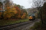 CSX Q388 on an Autumn Morning