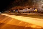 CSX Q641 Tied down in the Narrows.