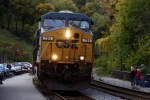 CSX V779 With a Friendly Wave