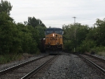 CSX #5362 with CSX #5210 right behind it