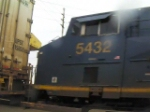 CSX #607, #5432, and #9040