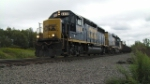 CSX Rail Rack Train