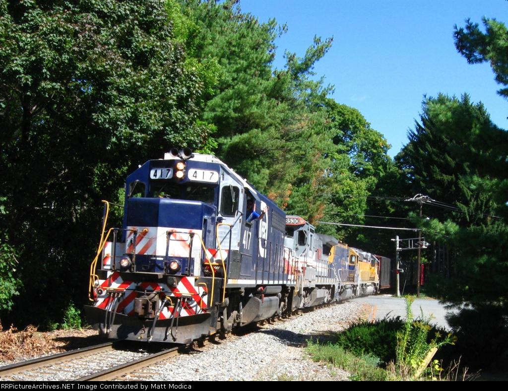 NECR Train Number 611