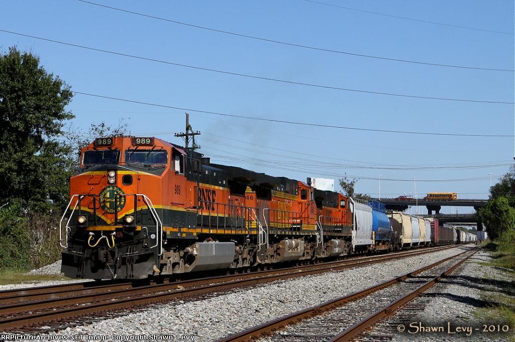 BNSF C44-9W 989