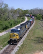 CSX 648 on Q145