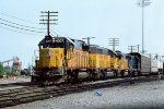 UP SD40-2 4307
