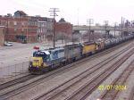 CSX train W630