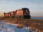 CP Train 104 at Bowell AB
