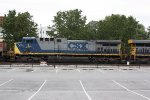 CSX 1 - Spirit of West Virginia - trailing on eastbound coal train