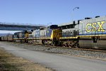 CSX 7725 -second unit Eastbound coal