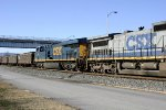 CSX 797 -third unit on eastbound coal