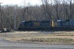 CSX 8588 sitting in yard