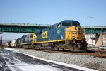 Eastbound freight CSX #5348 leading
