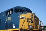 CSX 5348 number boards