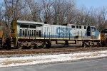 Q400 W/B - CSX #293 fifth unit on train