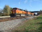 BNSF 7877 and 6631