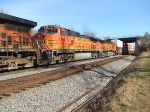 BNSF 4166 and 4398