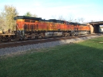 BNSF 5067 and 7831