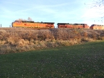 BNSF 5350 and 4308