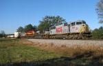 KCS 3972 leads NS 220 east of Tallapoosa