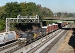 NS 9085 leads train 198