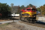 NS 220 rounding the Douglasville S - curve