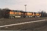 Empty all-rail ore train heads back to the Range