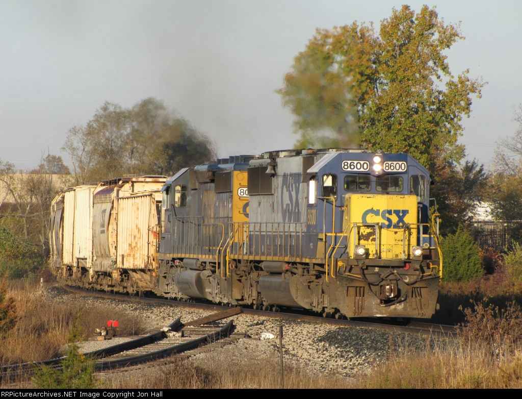 Q334-17 rolls past the old Steelcase Spur