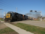 CSX 8594 & 4736 blast across 36th Street with Q334-16