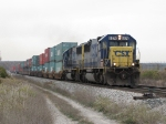 An SD50-2 duo of 8574 & 8548 lead Q195-20