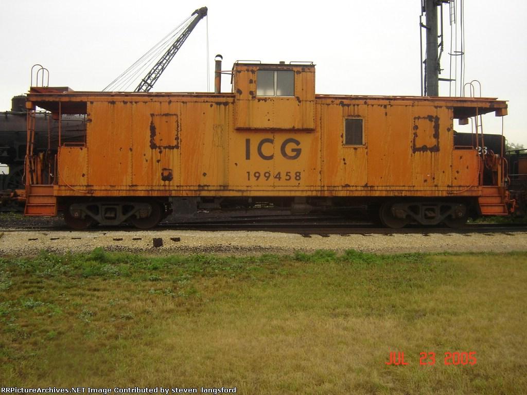 ICG Caboose # 199458