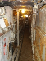 THE ENGINE ROOM ON ATSF engine # 92