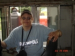 ME IN THE CAB OF ATSF engine # 92