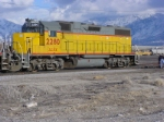 LLPX 2280 on UP Trackage at Ogden, Utah