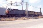 Post merger freight going through Englewood