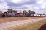WB freight heading into Englewood
