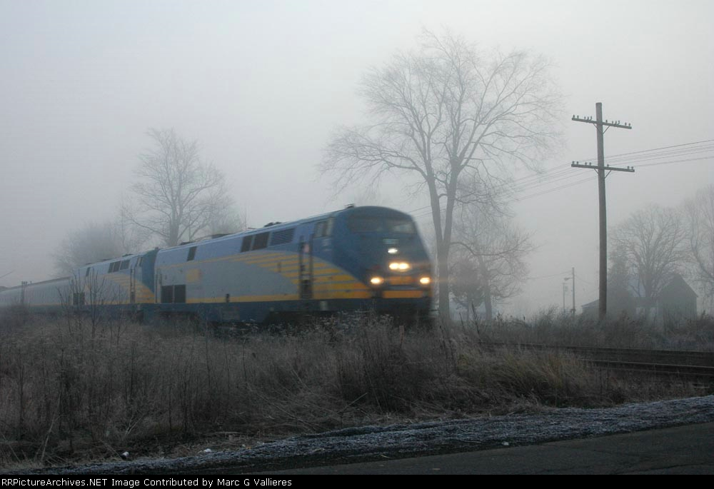 VIA Rail train 53