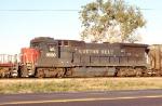 SSW 8090 on NB grain train