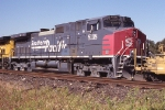 SP 8138 #3 of 3 on SB intermodal