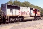 BNSF 8220 leading a SB autorack