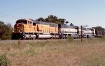BNSF NB coal train