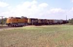 BNSF SB freight