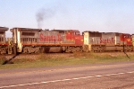 Warbonnets pulling NB freight