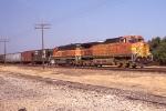 BNSF SB grain train