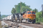 BNSF 7806 On NS 54 A Westbound