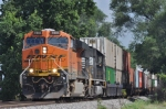 BNSF 7804 On NS 295 Eastbound