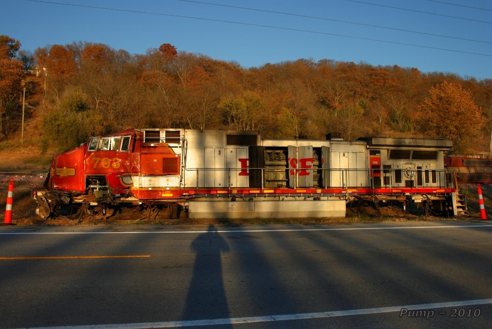 BNSF Rear End Collision and Derailment
