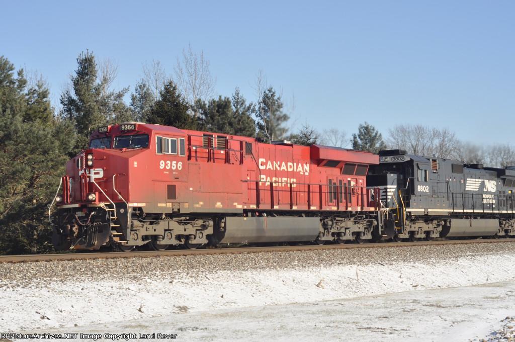 CP 9356 West