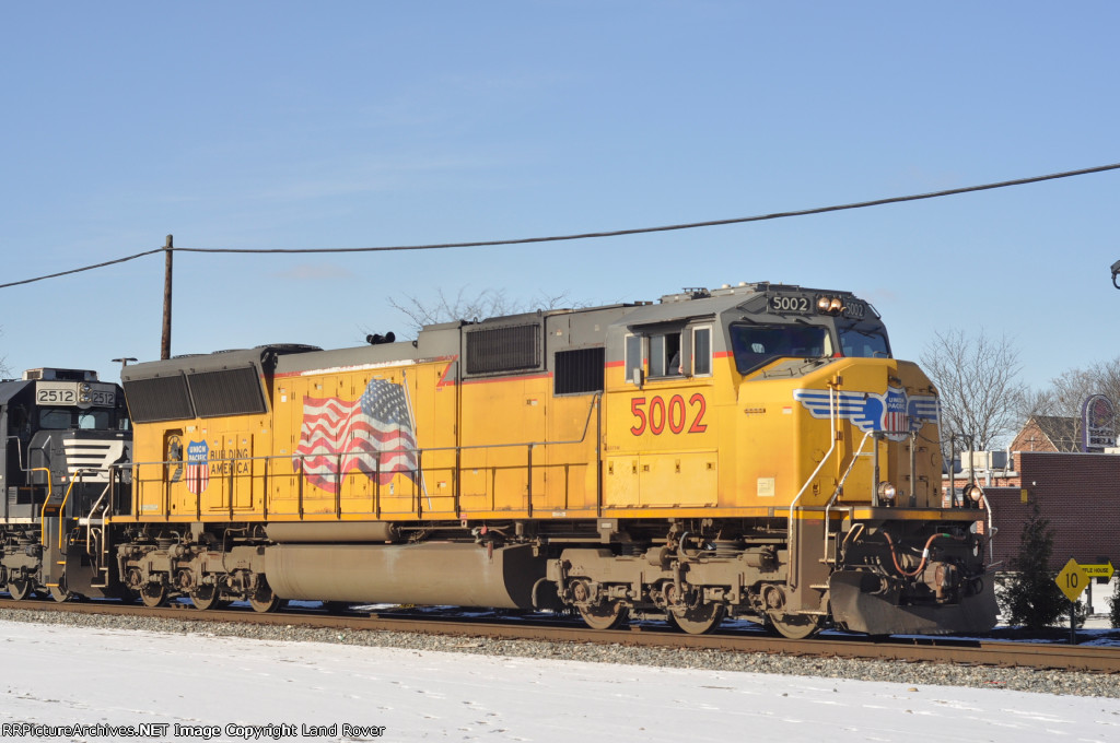 UP 5002 East