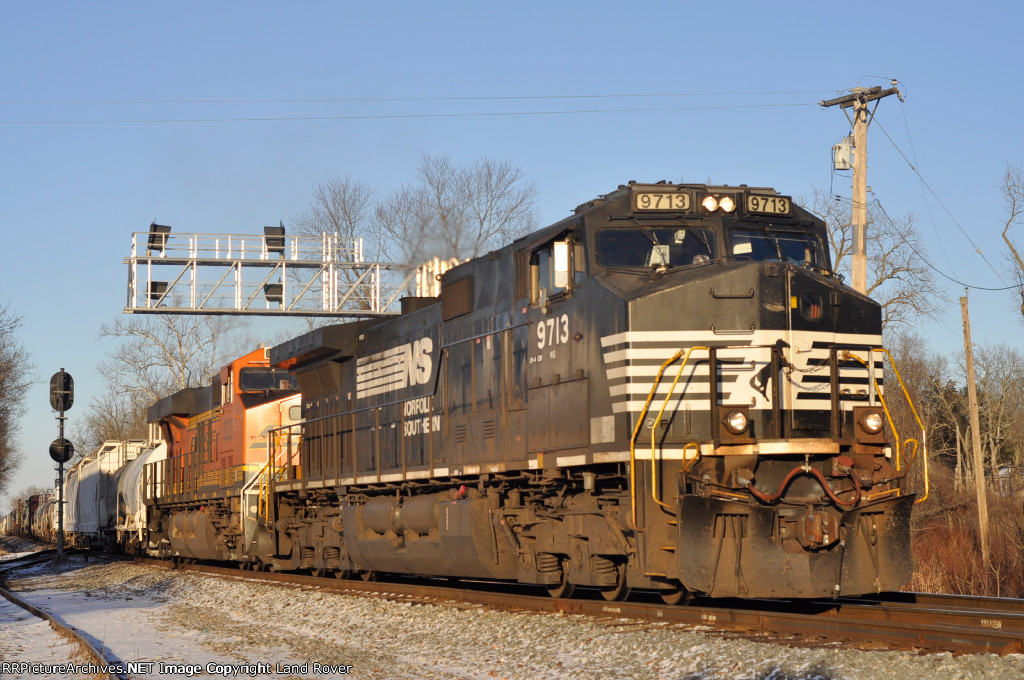 NS 9713 On NS 143 Eastbound